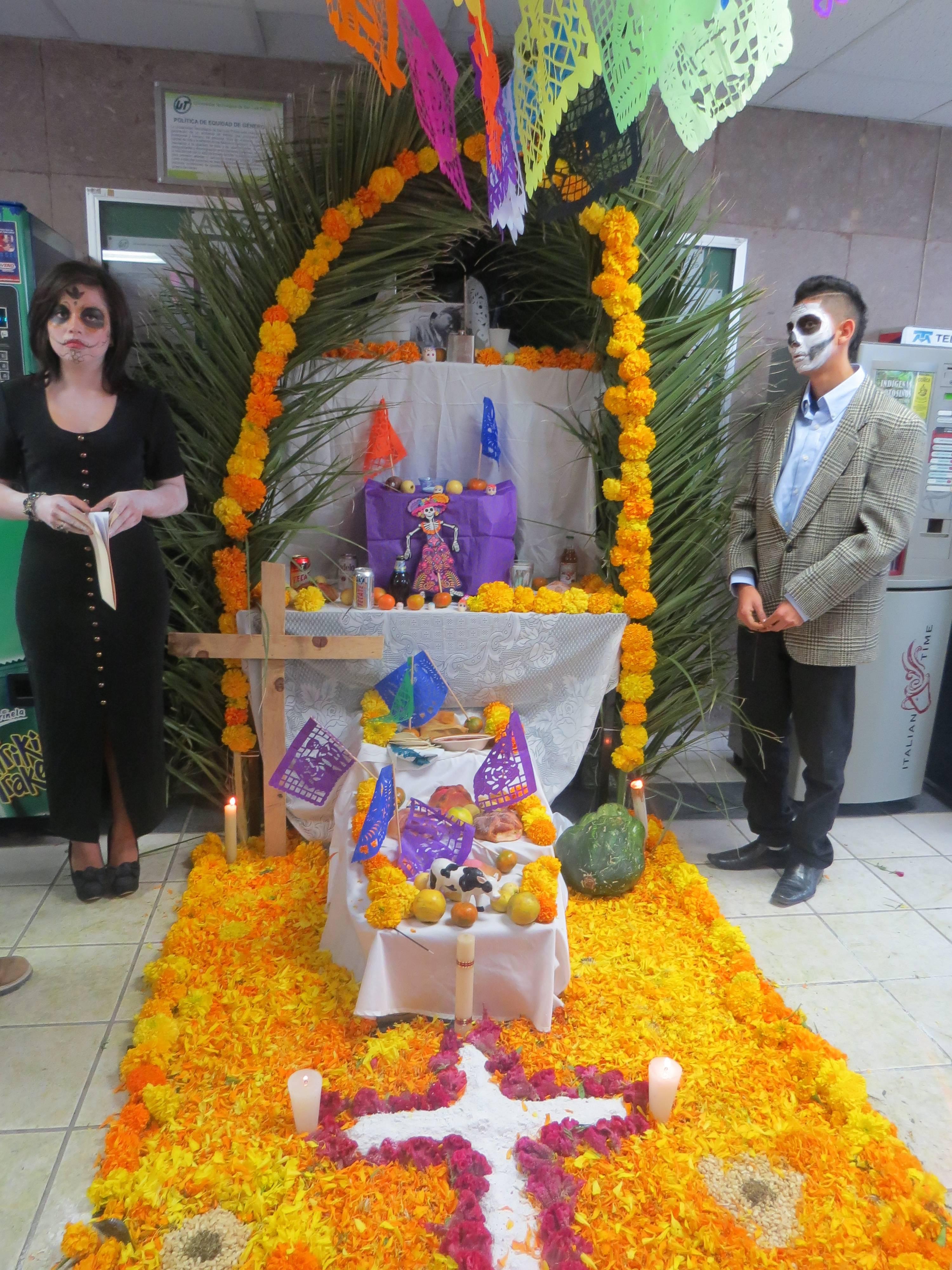 Concurso De Altares De Muertos Universidad Tecnológica De San Luis