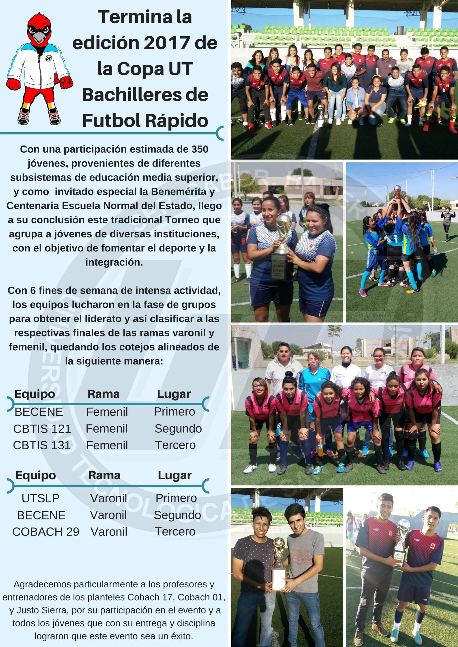 Copa UT Bachilleres (2)